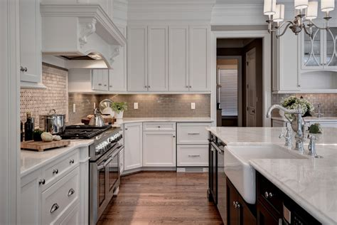 transitional kitchen with gray cabinets and farmhouse sink glamorous full size captains bed in kitchen transitional