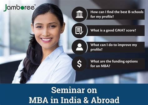 Mba Conferences In India by Seminar On Mba In India Abroad