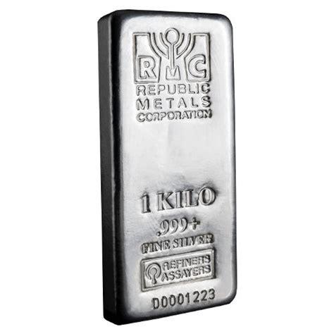 10 ounce silver bar worth buy 1 kilo rmc silver bars 999 new silver