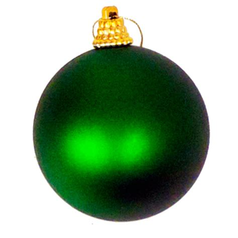 baubles 70mm set 12 green christmas all year