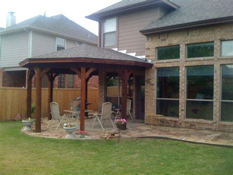 Types Of Patio Covers by Gazebo Type Patio Cover In Mckinney Tx Hundt Patio