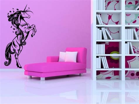 Unicorn Room Decor Fabulous Unicorn Nursery Room Wall Stickers High Quality Many Colours New