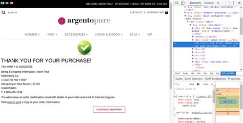 how to add custom css files in magento magento tutorials 5 ideas how to edit checkout success page swiss up labs