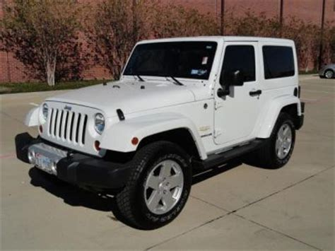 White Jeep For Sale 2012 Jeep Wrangler White Http Www Iseecars