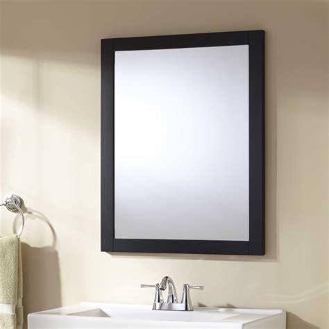 Black Vanity Mirrors by Signature Hardware Lander Vanity Mirror Black Ebay