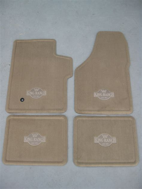 King Ranch Floor Mats by 2007 2008 Ford F 250sd F 350sd King Ranch Carpeted Floor