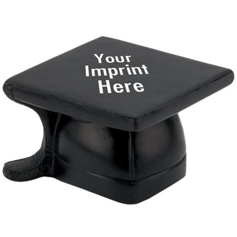 Cap Desk by Graduation Cap Stress Reliever With Personalization