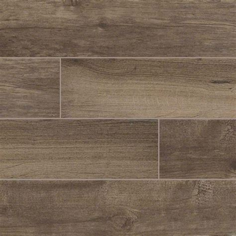 Porcelain Wood Tile Flooring Palmetto Porcelain 6x36 Quot Smoke Wood Look Tile