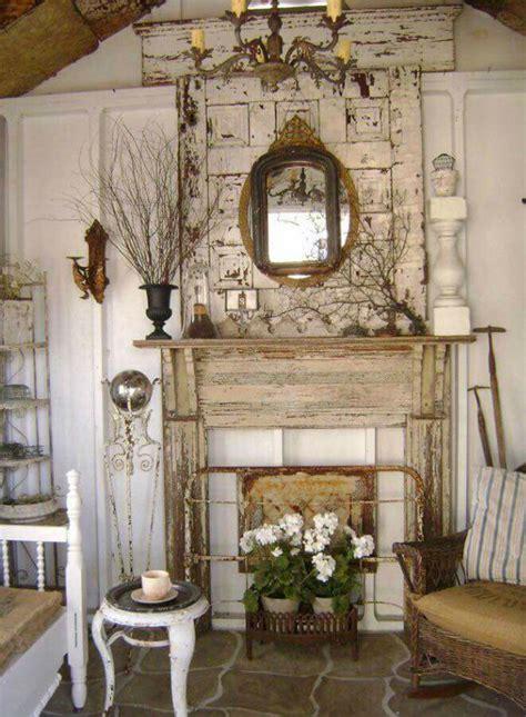 camini decorativi camini shabby chic ecco 40 idee originali e decorative