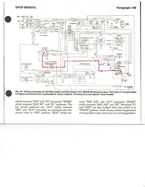 wiring diagram for tractor lights tractor battery
