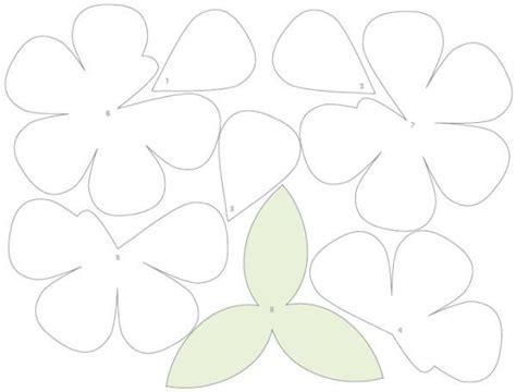 moldes de flores de papel buqu 234 de flores de papel passo a passo com molde paper