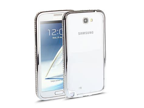 Bumper Mirror Samsung Galaxy Note 2 N7100 samsung galaxy note ii gt n7100 bling bling metallic bumper