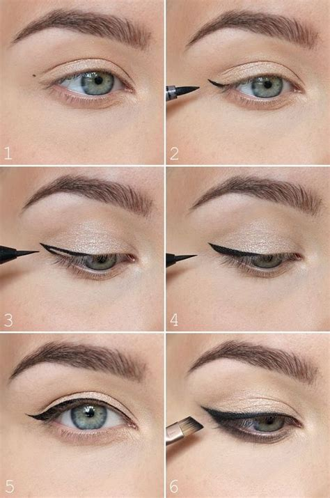 eyeliner tutorial top and bottom 11 quot no makeup quot makeup tutorials perfect for spring belletag