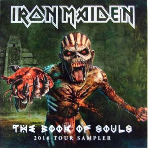 Cd Iron Maiden The Book Of Soul 2cd Original iron maiden the book of souls 2016 tour sler lp lp for sale on adrenalynrecords