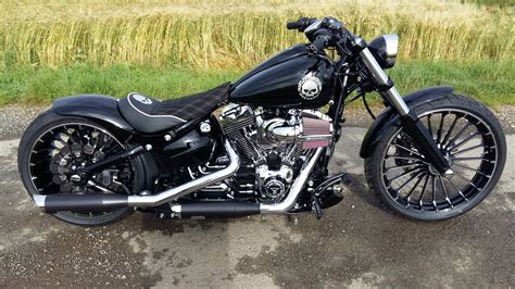 Pipes For Harley Davidson by Exhaust For Harley Breakout Html Autos Post