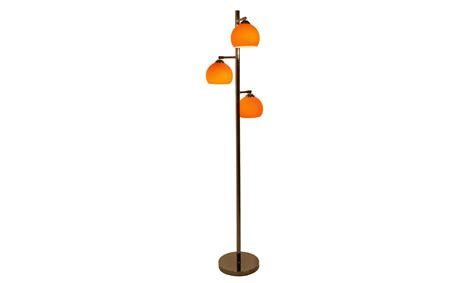 1960s Kitchen Cabinets by Orange Floor Lamp