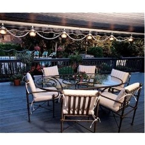 patio awning lights sunsetter patio awning lights 6 light set