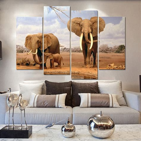 Elephant Room Decor Elephant Living Room Decor For Wildlife Enthusiasts Homedcin