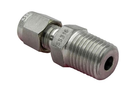 stainless steel fittings thermocouple compression fitting adapters 1 4 quot npt 316