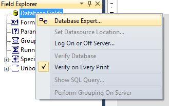 membuat query di crystal report 8 5 membuat laporan biodata dengan crystal report vb net scode