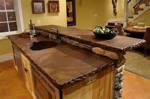 concrete countertops kitchen ideas