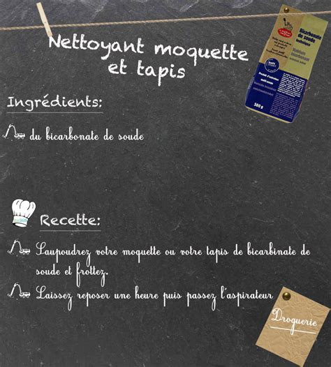 Nettoyer Le Tapis by Nettoyer Tapis Avec Bicarbonate De Soude