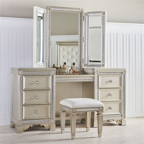 Fairfax home collections tiffany vanity with mirror wayfair