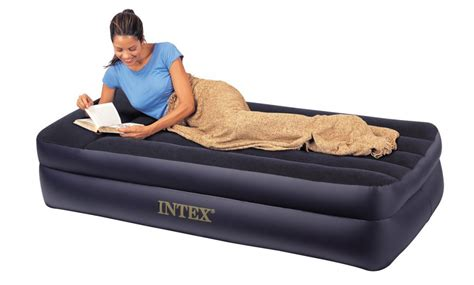 intex pillow rest airbed with built in electric 29 99 from 54 99 free shipping
