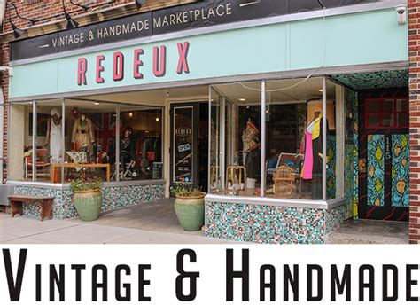 Handcrafted Marketplace - redeux marketplace vintage handmade real lancaster county
