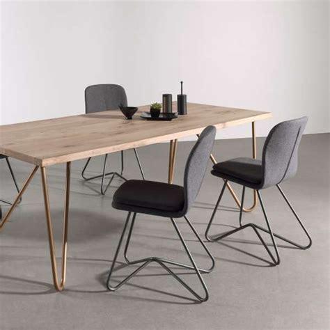chaise salle a manger design chaise design de salle 224 manger avec coque en tissu
