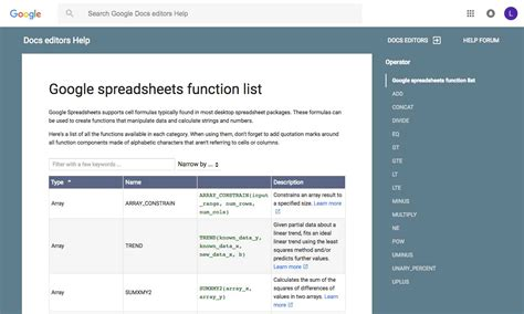 Docs Spreadsheet Functions by Merge Cells Docs Docs Spreadsheet Functions