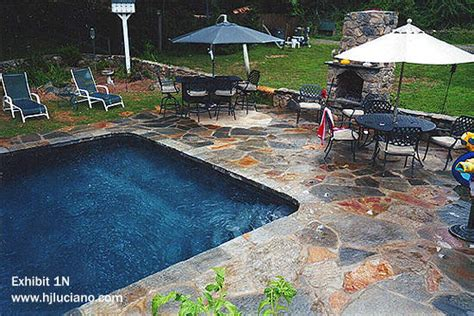 Paver Patio Ideas Pool Patio Hj Luciano Inc