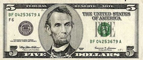 5 dollar clipart pulling the magnetic out of american paper money