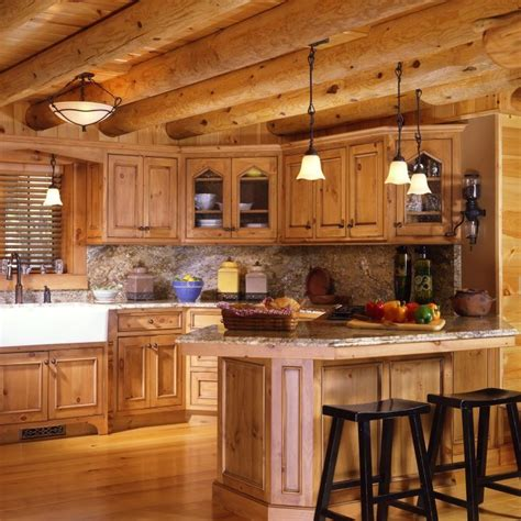 Shopping For Kitchen Cabinets by Shopping For The Right Rustic Kitchen Cabinets For A Log