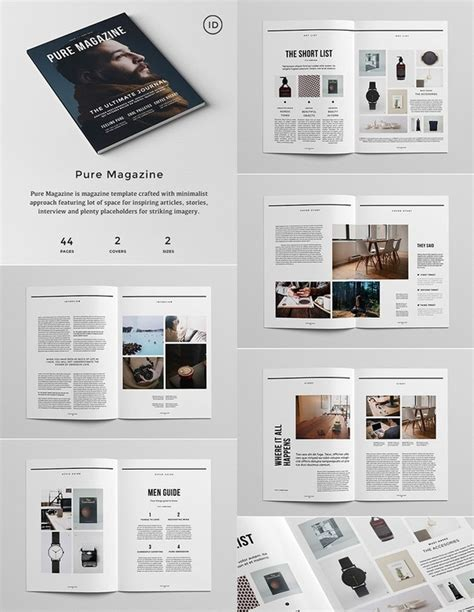 Magazine Design Standard Template Quora Indesign 5 5 Templates