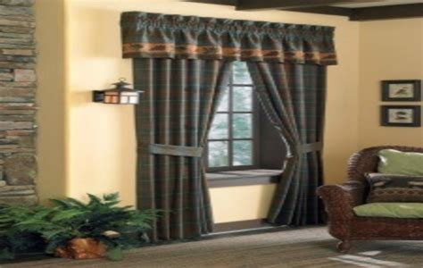 rustic curtains cabin window treatments design trends categories scary diy homemade halloween