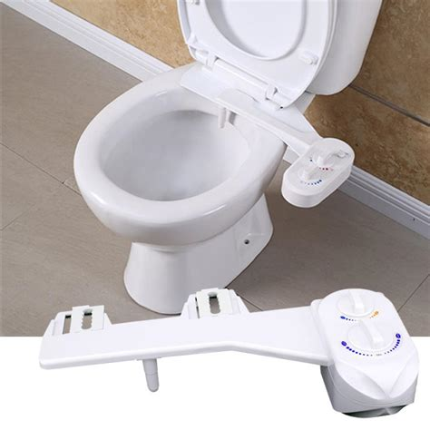 toilet seat bidet attachment self cleaning cold water bidet flush non electric