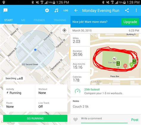 best running app for android what is the best run tracker app for android