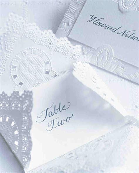 DIY Doily Wedding Decorations   Martha Stewart Weddings