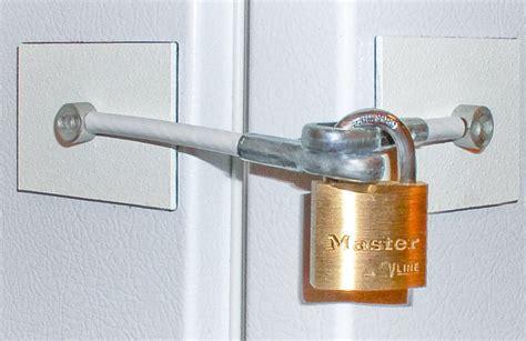 Refrigerator Door Locks by Marinelock White Refrigerator Door Lock No Padlock Other