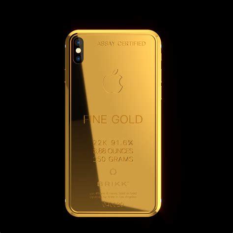 brikk launches premium version  iphone   gold