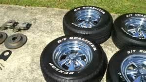 Cragar Truck Wheels For Sale Cragar Ss 15x7 Wheels With Dunlop G T Qualifier Tires 255
