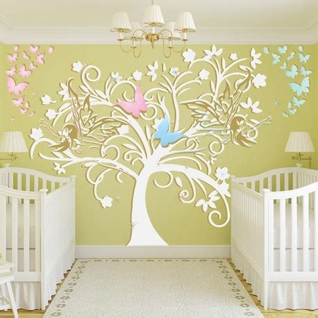 sticker mural chambre fille stickers chambre bebe fille fee design d int 233 rieur et
