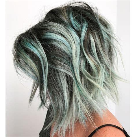 mint green hair color best 25 mint hair ideas on mint hair color