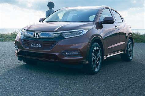 2019 Honda Vezel by Japanese Spec Vezel Likely Previews Refreshed 2019 Honda