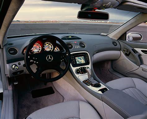Sl55 Interior by Image Gallery 2003 Mercedes Sl55