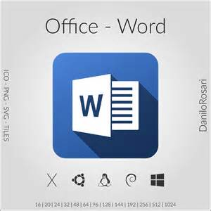 Office Word Office Word Icon Pack By Danilorosari On Deviantart
