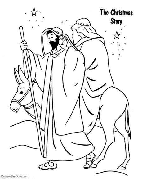 coloring pages of the nativity story the christmas story coloring pages