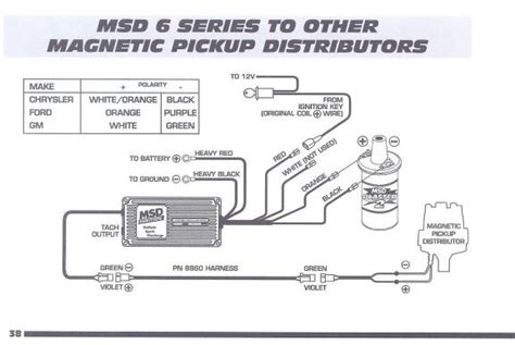 msd distributor wiring diagram wiring free wiring diagrams