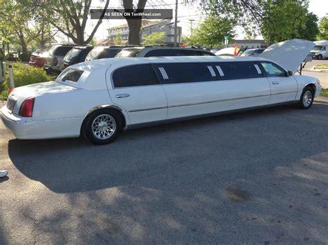 town car limousine 2000 lincoln town car stretch limousine